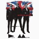 depeche mode delta machine tour t-shirt by KeepItStupid