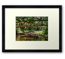Time to Cross Over Framed Print