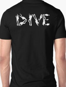 DIVE WITH DIVERS IN WHITE T-Shirt