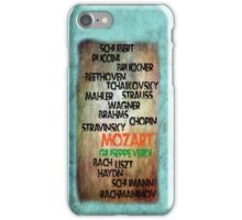 Classical Composers iPhone Case/Skin