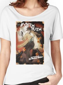 The Synth Sleuth! Women's Relaxed Fit T-Shirt