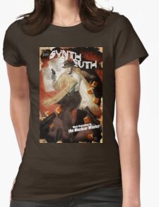 The Synth Sleuth! Womens Fitted T-Shirt