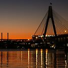 Sunset over Anzac by Lorraine Creagh