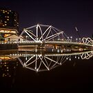 Bridge Reflection by Paul Campbell  Photography