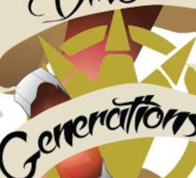 DINO GENERATIONS  Sticker