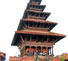 bhaktapur durbar square by sajal maskey