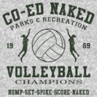CO-ED Naked Volleyball by GUS3141592