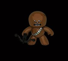Star Wars Toon Chewbacca by gotselvedge