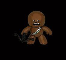 Star Wars Toon Chewbacca by gotselvedge