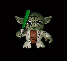 Yoda w/ Napoleon Complex by gotselvedge
