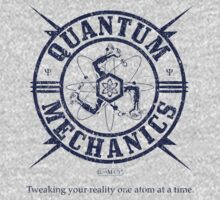 Quantum Mechanics Logo by GUS3141592