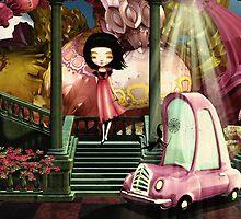 Your Chariot Awaits... by Karen  Helgesen