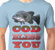 Cod Bless You Unisex T-Shirt