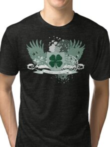 four leaf clover Tri-blend T-Shirt