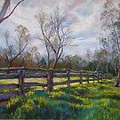 'Barmah Muster Yards' by Lynda Robinson