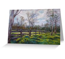 'Barmah Muster Yards' Greeting Card