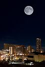1:30 AM Hawaii Time. Super Moon. by Alex Preiss
