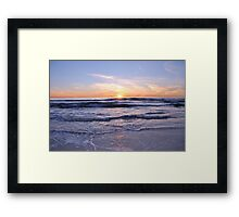 SoCal Sunset 1 Framed Print