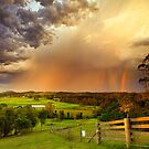 Rain and Rainbows by Rodney Trenchard