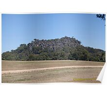 Hanging Rock (Mt Diogenes) Macedon Ranges, Australia Poster