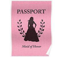 maid of honor passport  Poster