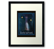 alien early harvest Framed Print