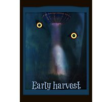 alien early harvest Photographic Print
