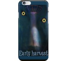 alien early harvest iPhone Case/Skin