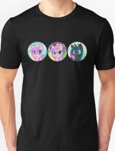 Royal Love Ponies Unisex T-Shirt