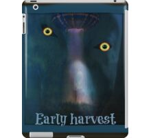 alien early harvest iPad Case/Skin