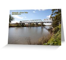 Morpeth Bridge (1898), Hunter River Greeting Card
