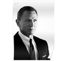 007 - Daniel Craig - James Bond - 2012 Poster