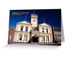 Town Hall (1884), Maitland NSW Greeting Card