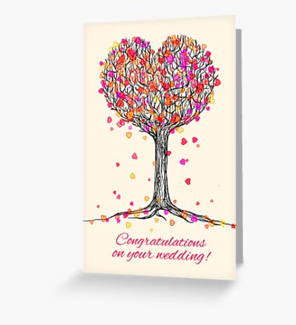 Congratulations on your Wedding! Greeting Card
