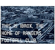 Rangers Football Club Photographic Print