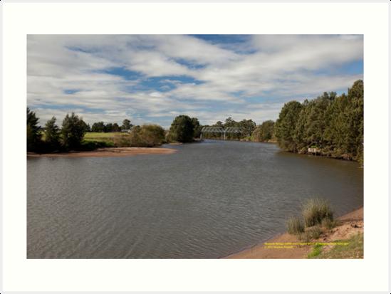 Morpeth Australia  city photos gallery : Rural View Hunter River at Morpeth, NSW Australia