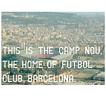 Futbol Club Barcelona Photographic Print