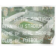 Real Madrid Poster