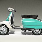 Lambretta (Serveta) Li150 by Tony  Newland