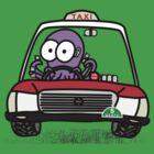 Taxi Octopus in Hong Kong by Kokonuzz