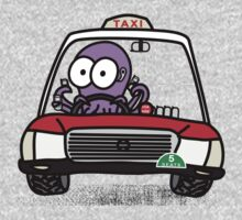 Taxi Octopus in Hong Kong Kids Clothes