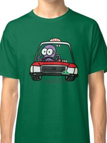 Taxi Octopus in Hong Kong Classic T-Shirt