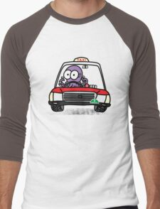 Taxi Octopus in Hong Kong Men's Baseball ¾ T-Shirt