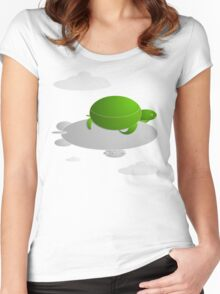 Turtle Blimp Women's Fitted Scoop T-Shirt