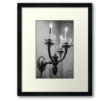 Candle Light Framed Print