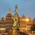 Grote Markt Antwerp by Kasia Nowak
