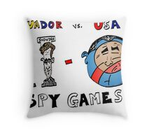 Ecuador 2 USA 0 in the Spy Game Throw Pillow