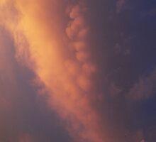 Golden Cloud in Sunset by yadayunikon