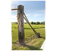 Rope Fence Poster