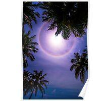 Sun Halo. Maldives Poster